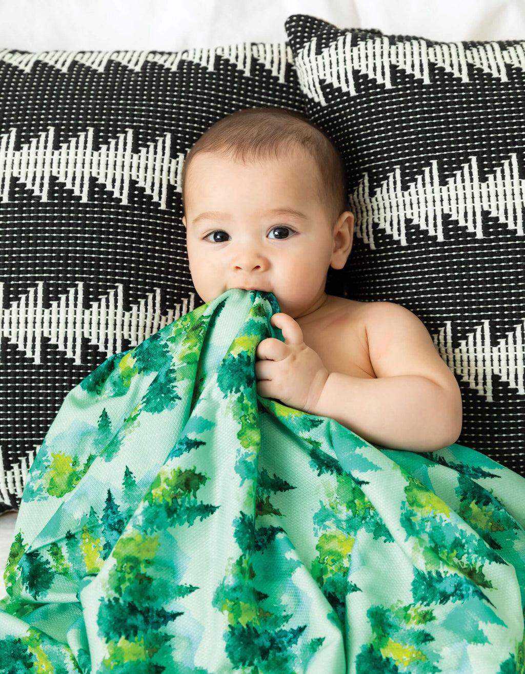 Swaddle Blanket - Forest