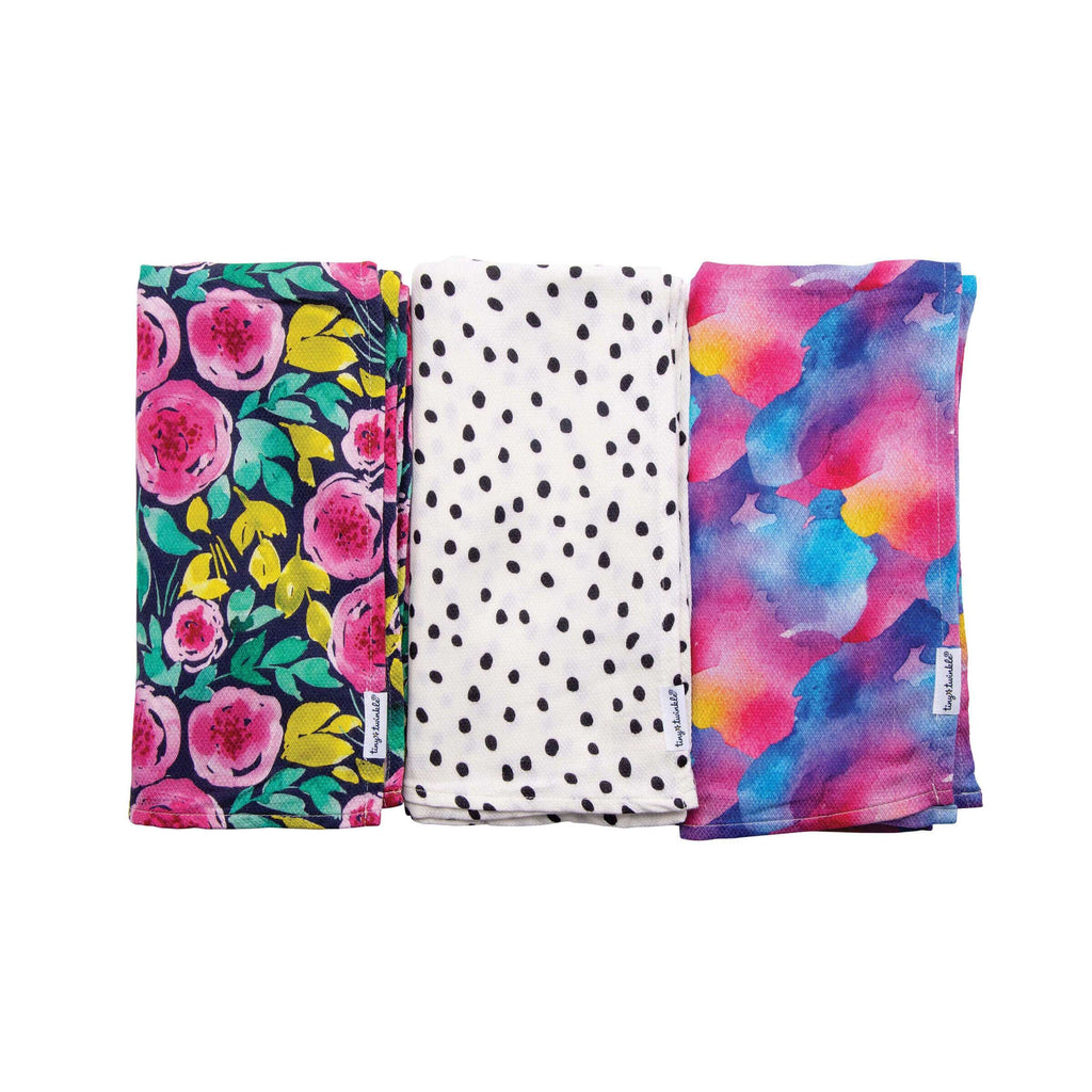 Swaddle Blanket 3Pack - Painted Peony Set