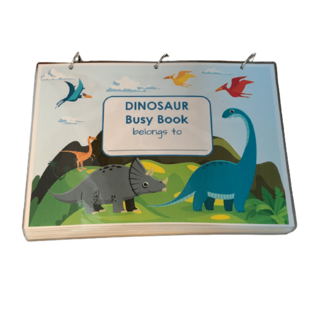 Busy Book Dino Preschool