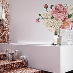 Mixed Flowers Wall Decals