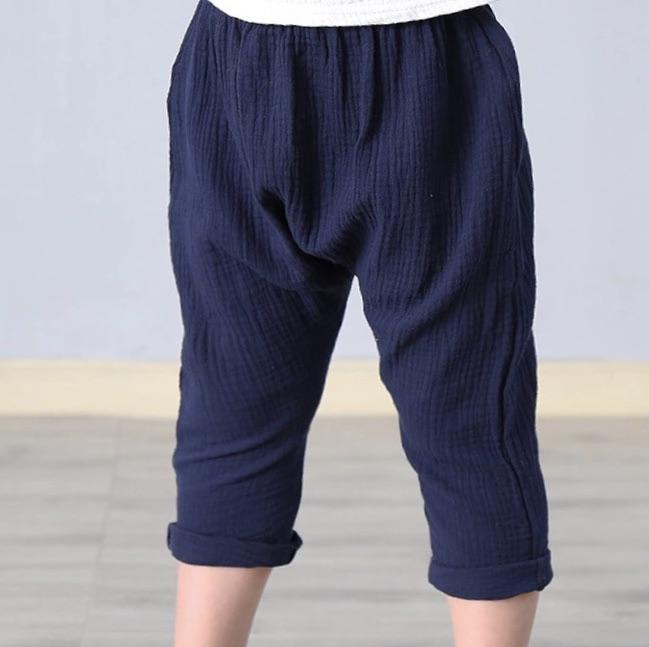 Tali Pleated Linen Pants