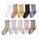 Ribbed Mid Length Socks