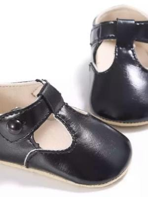 Tbar Shoes in Coal