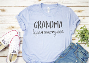 Grandma Name Personalized