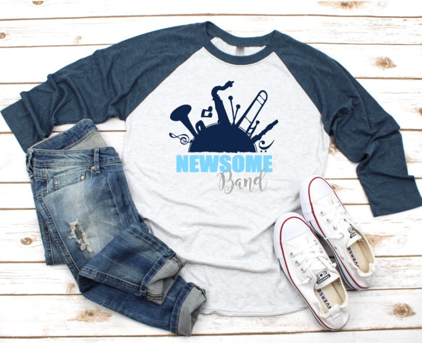 NEWSOME Band Raglan