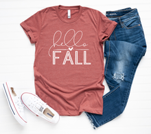 Load image into Gallery viewer, HELLO FALL — SHORT/LONG SLEEVE OPTION