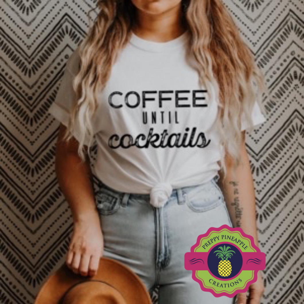 COFFEE TIL COCKTAILS