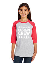 Load image into Gallery viewer, Cousin crew raglan