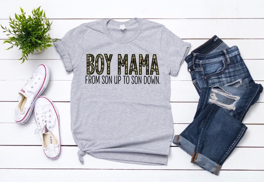 BOY MAMA. FROM SON UP TO SON DOWN
