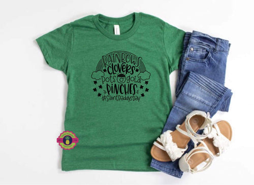 RAINBOWS CLOVERS YOUTH Tee