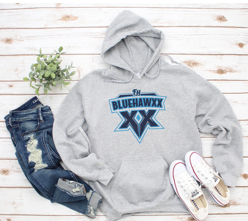 BLUEHAWXX HOODIE YOUTH & ADULT