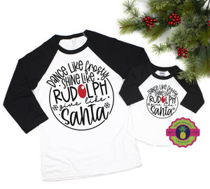 Dance like Frosty, shine like Rudolph YOUTH and ADULT