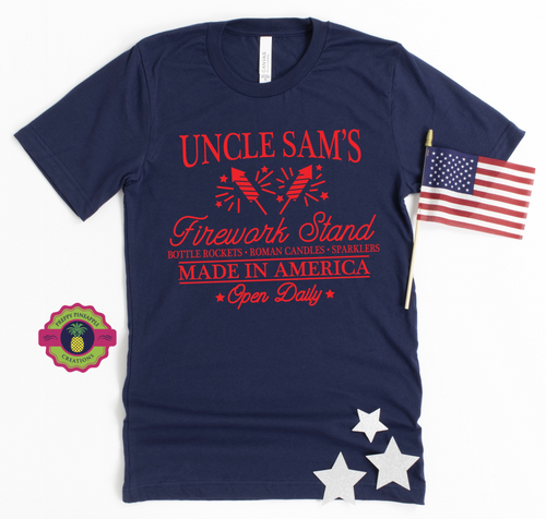 UNCLE SAM'S FIREWORK STAND