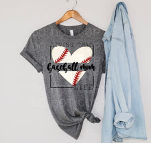 Load image into Gallery viewer, BASEBALL MOM LIFE TEE/TANK