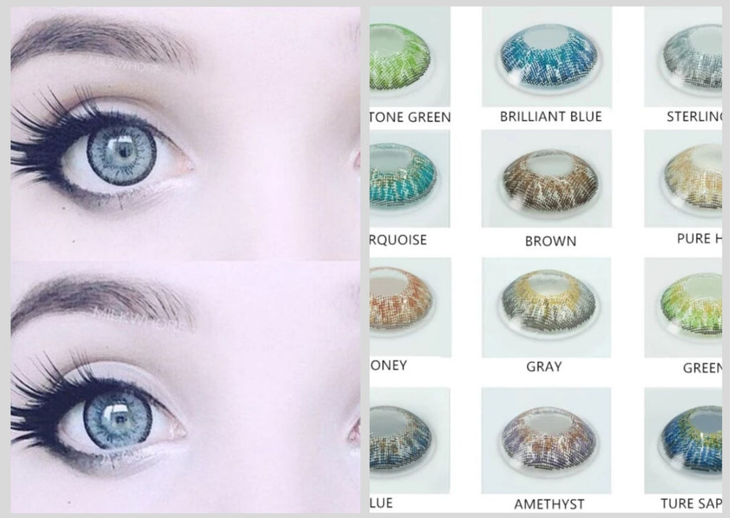 Harajuku Colored Contact Lenses for Eyes