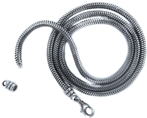 Snake Silver Chains