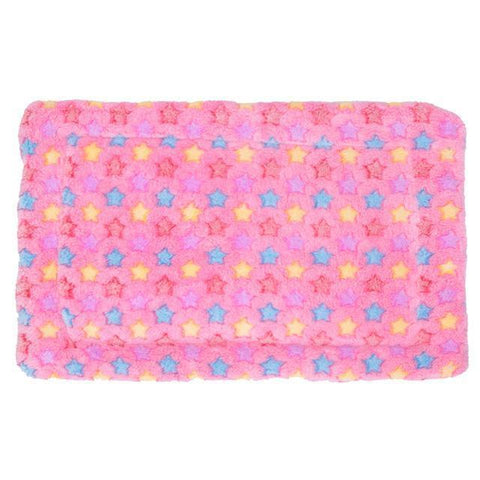 Image of bedding Pet Rest Blanket Puppy Dog Mattress Cushion Breathable Pet Cushion Soft Warm Sleep Mat Pink / S