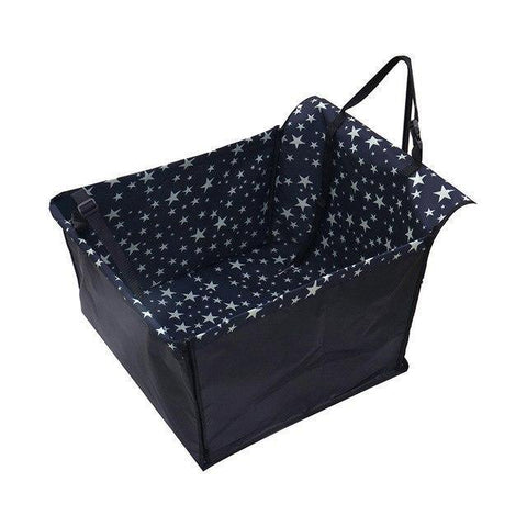 Carriers Anti-Fur Seat Cover-Pet Carrier Dog Car  Back Seat Carrier Cover Pet Dog Mat Blanket Stars