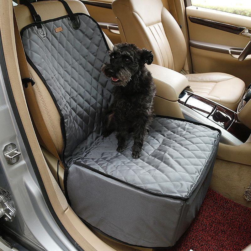 Waterproof Bag Pet Car Carrier-2 In 1 Fold able Waterproof Dog Pet Car Carriers Storage Bags