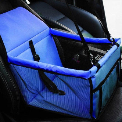 Carriers Waterproof Bag Pet Car Carrier-Carrier for Dogs Breathable Car Bag for Dog Safe Waterproof Travel Carrier for Pet Blue