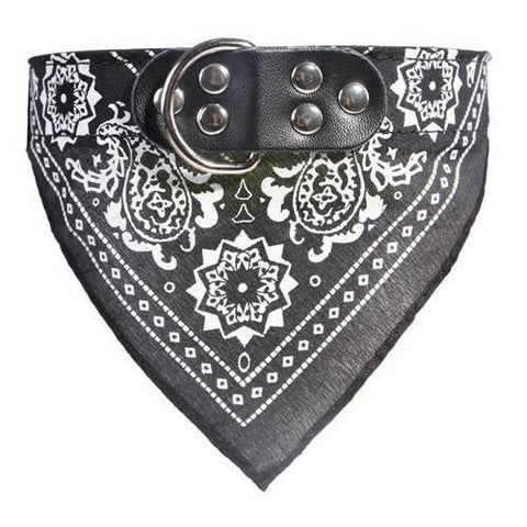 Image of Clothing and Accessories Baby Sailor Dog Scarf Black / S