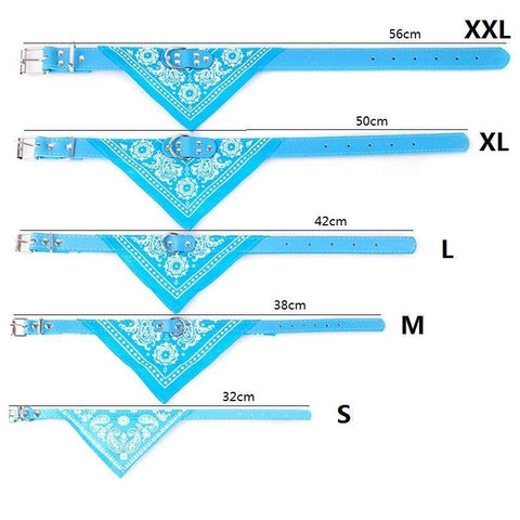 Image of Clothing and Accessories Baby Sailor Dog Scarf Blue / S