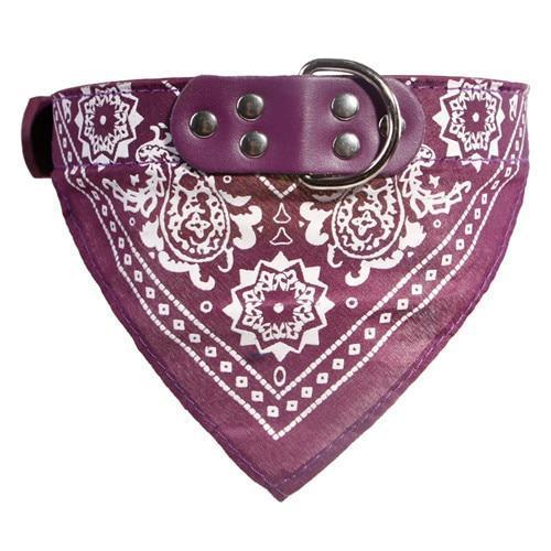Clothing and Accessories Baby Sailor Dog Scarf Purple / S