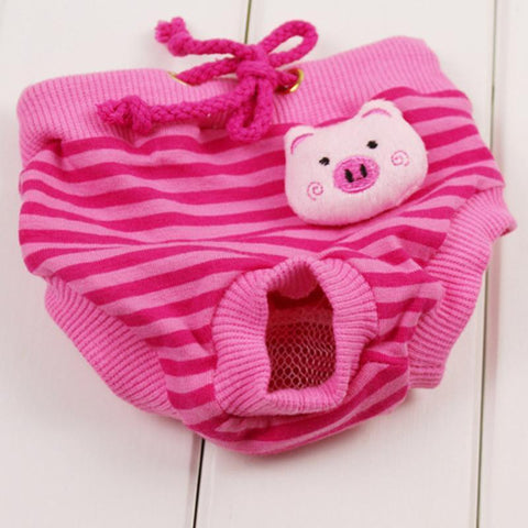 Image of Clothing and Accessories Dog Pet Pants Courtesy of Male Female Dog Health Pant Pink Peppa / S