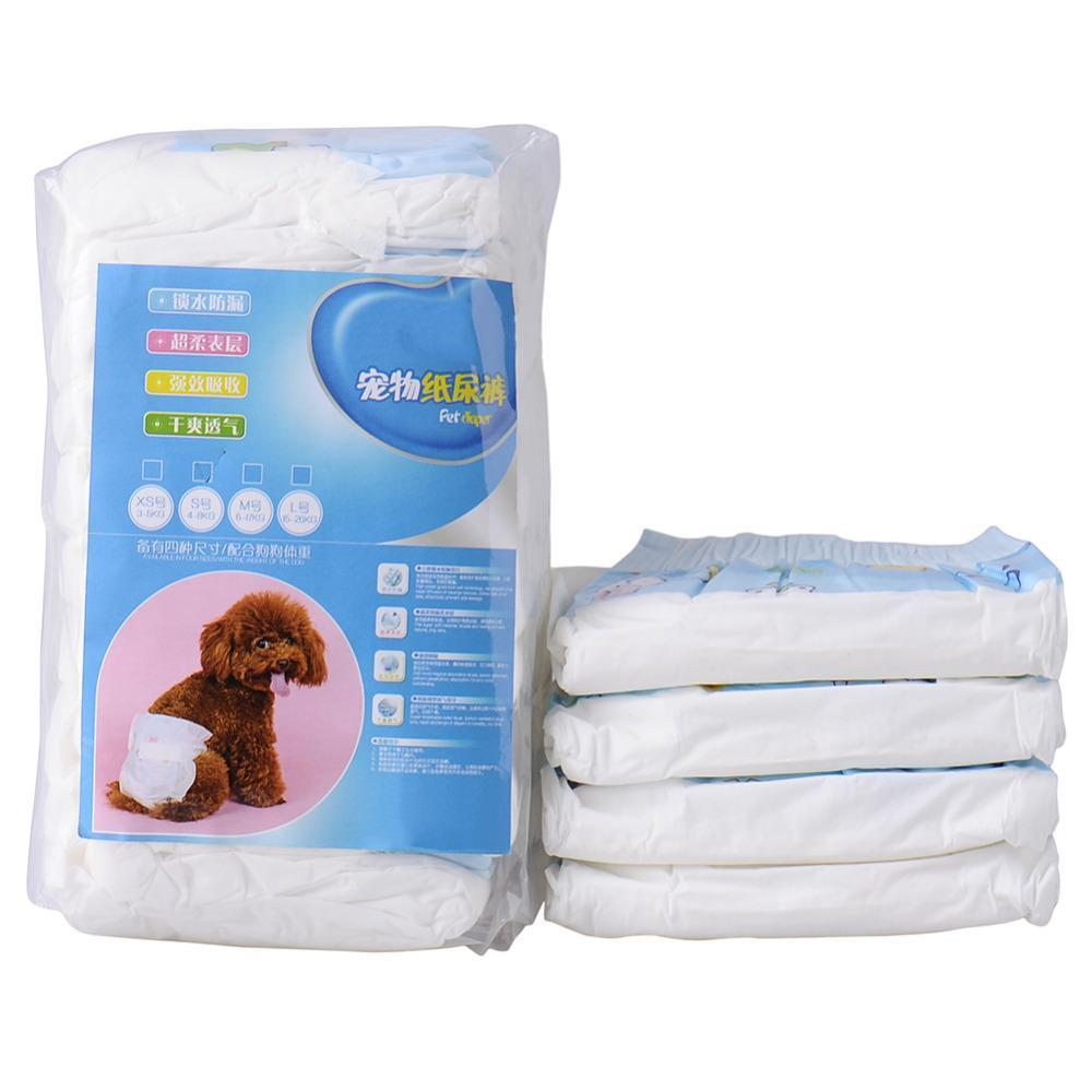 Super-absorbent Pet Diapers Dog Health Pants Breathable Nappy Packs