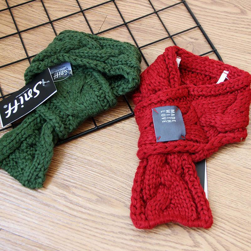 Christmas Scarf.Christmas Accessories Christmas Scarf Warm Winter Pet Dog Scarves Dogs Bow Tie Collars