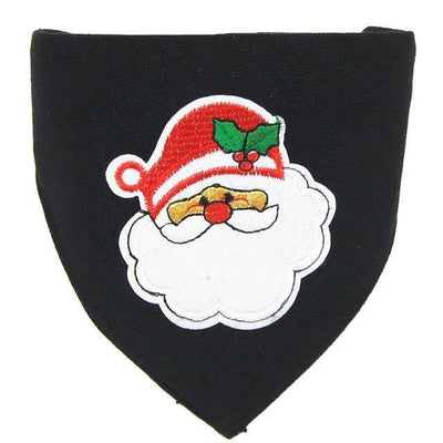 Dog Christmas Christmas  Accessories - Collar Scarf Bib Christmas Collar Bibs Necktie Pet Christmas Dog Tools Suit 1pc black / S