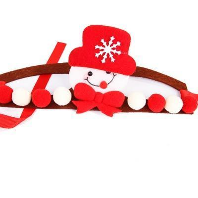 Dog Christmas Christmas  Accessories - Head Band Decorations Dog Crown Hat Headband Christmas Hair Accessories Red Snow / S