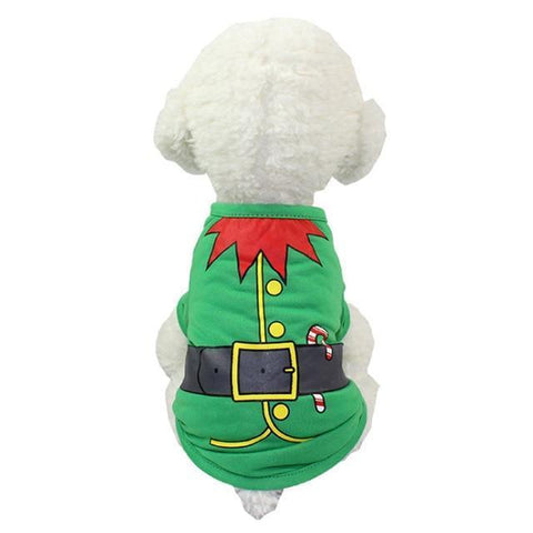 Dog Christmas Christmas Dog Clothes-Pullover Hoodies Dog Clothes Cat Santa Pet Dog Shirt  Puppy Sweater  Clothes Casual C / XS