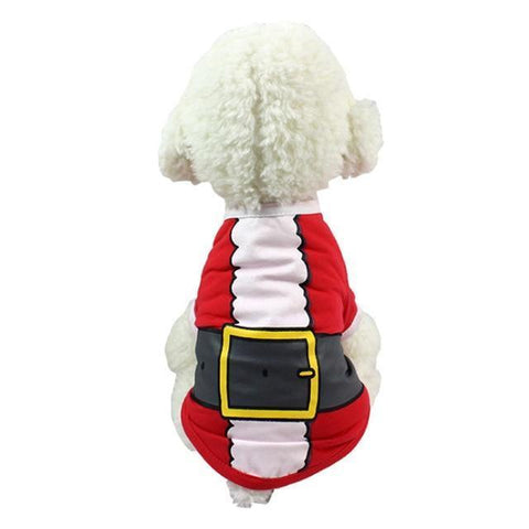 Dog Christmas Christmas Dog Clothes-Pullover Hoodies Dog Clothes Cat Santa Pet Dog Shirt  Puppy Sweater  Clothes Casual G / XS