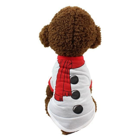 Dog Christmas Christmas Dog Clothes-Pullover Hoodies Dog Clothes Cat Santa Pet Dog Shirt  Puppy Sweater  Clothes Casual H / XS