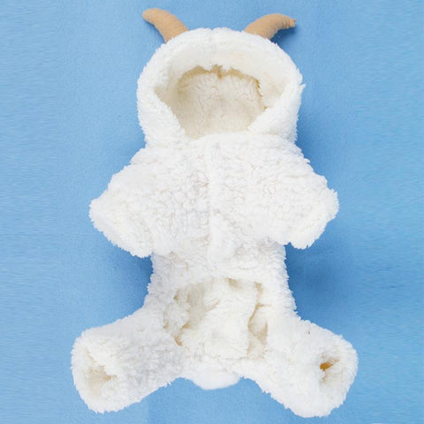 Dog Christmas Christmas Pet Clothes -Elk/Rabbit/Sheep Turned Small Dog Clothes Winter Warm Pet  Hoodie Sheep / XS