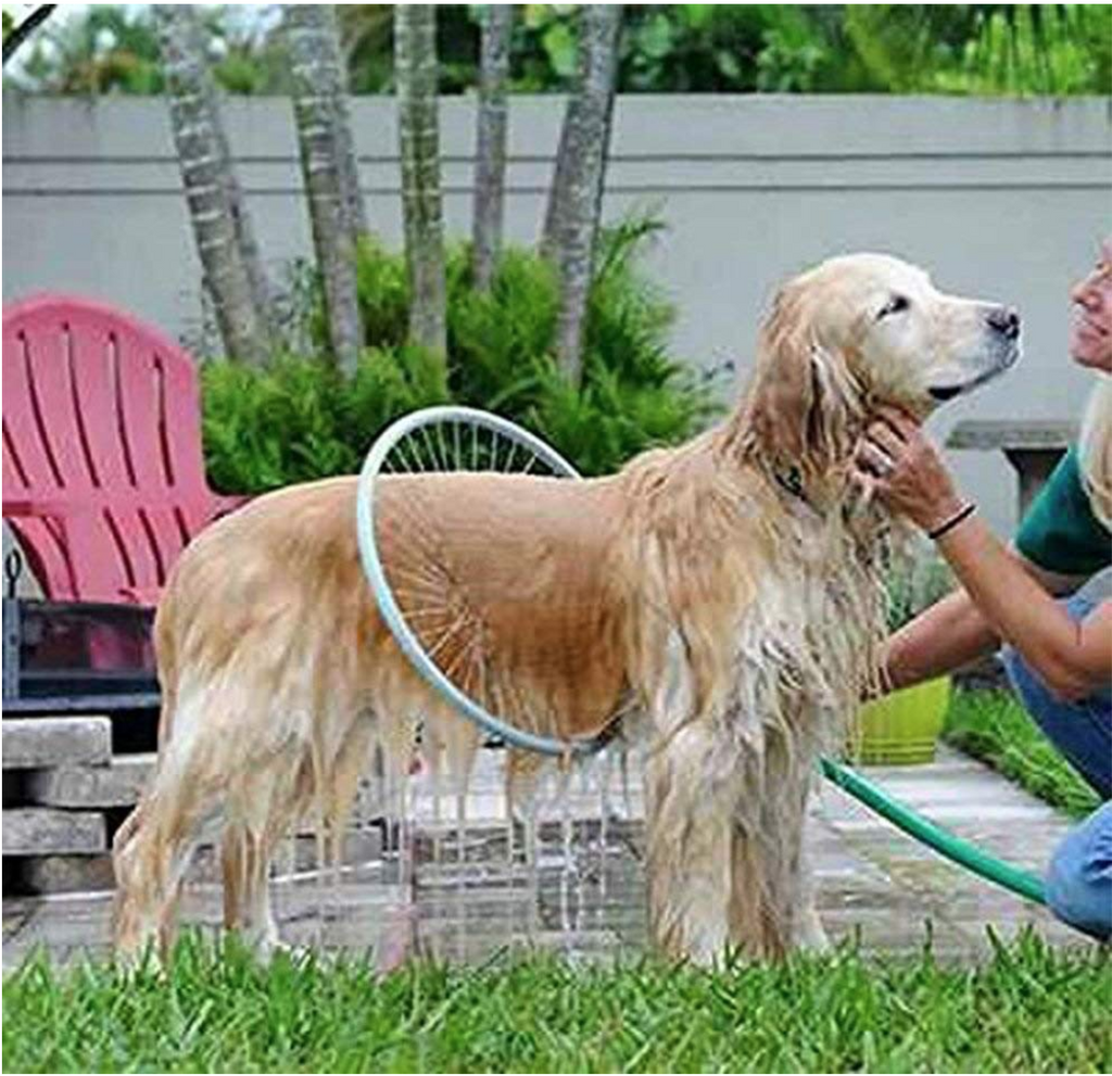 Health Care and Cleaning 360 Shower Sprayer For Dogs & Cats Cleaning Blue