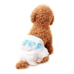 Health Care and Cleaning Dog Diapers Water-absorbing health pants XS