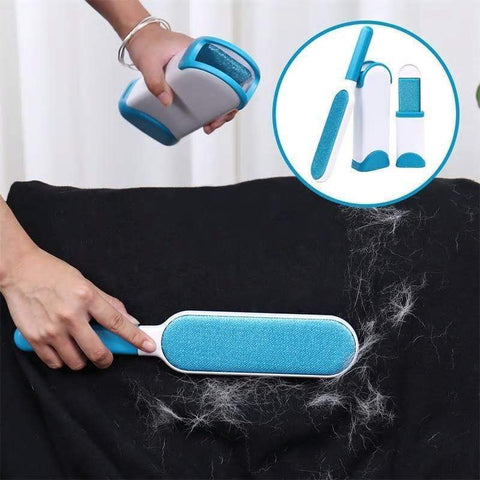 Health Care and Cleaning Ultimate Pet Hair & Fur Remover Brush Blue Set / Buy 1 Only