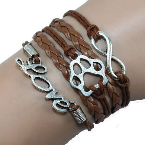 Image of Jewelry Paw Bracelets coffee