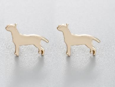 Jewelry Paw Earrings - Lovely Paw Dog Earrings Children Kids Jewelry Pet Lover Chihuahua Poodle Bulldog  Stud Earring Beagle-G
