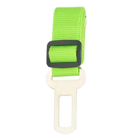 Safety Dog Safety Car Seat Belt Green Seat Belt