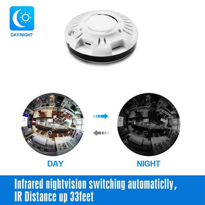 Safety Pet Camera-Two Way 360 Degree Panoramic Wifi Camera HD 1080P Security Camera Baby / Home Camera Monitor 960P / 2.8mm