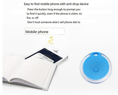 Image of Pets Smart Mini GPS Tracker (Bluetooth Keychain Alarm - Smart Finder - Prevents Losing Track of Things)
