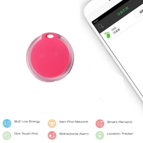 Image of Safety Pets Smart Mini GPS Tracker (Bluetooth Keychain Alarm - Smart Finder - Prevents Losing Track of Things) White