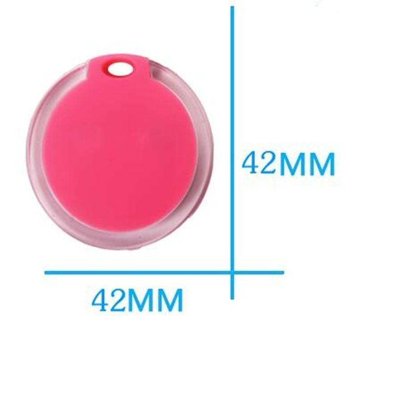 Safety Pets Smart Mini GPS Tracker (Bluetooth Keychain Alarm - Smart Finder - Prevents Losing Track of Things) White