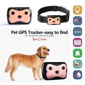 Safety Waterproof Smart Dogs GPS Tracker + Free Collar Default Title