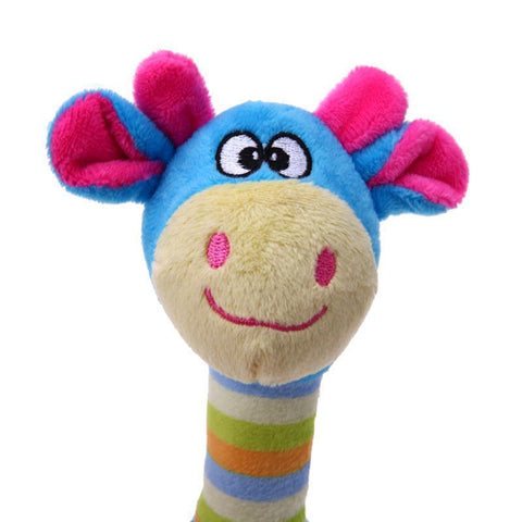 Image of Toys Chewy Animal Toys Blue Giraffe