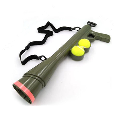 Toys Pet Treat Launcher Pet Ball Dog Toy Funny Gun Toy Training Muzzle Catapult Incentive Tool Green