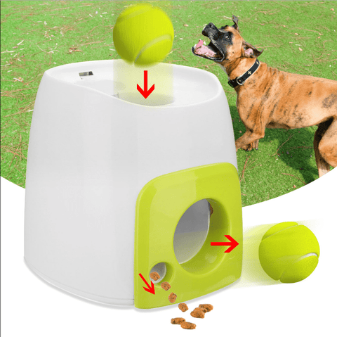 Image of Toys Tennis Launcher + Treat (Automatic Ball Launcher for Pets) Default Title